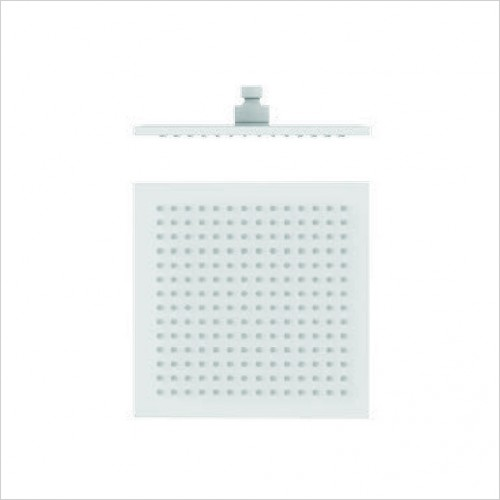 Bathwise brassware - Colour-line VIII 250mm square shower head