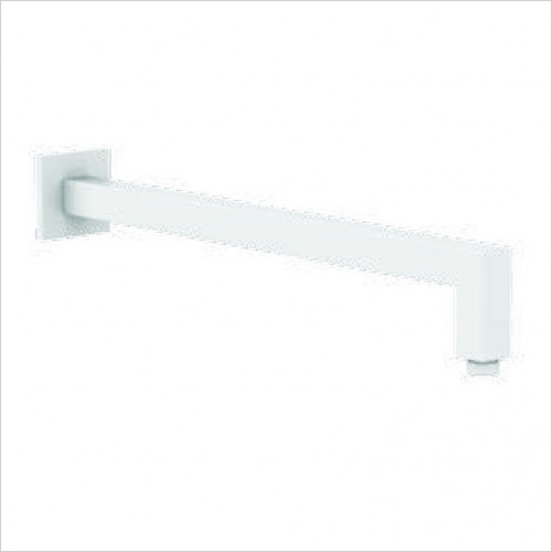 Bathwise brassware - Colour-line VIII 330mm square wall mount shower arm