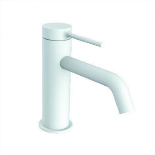 Bathwise brassware - Colour-line V basin mixer with click waste