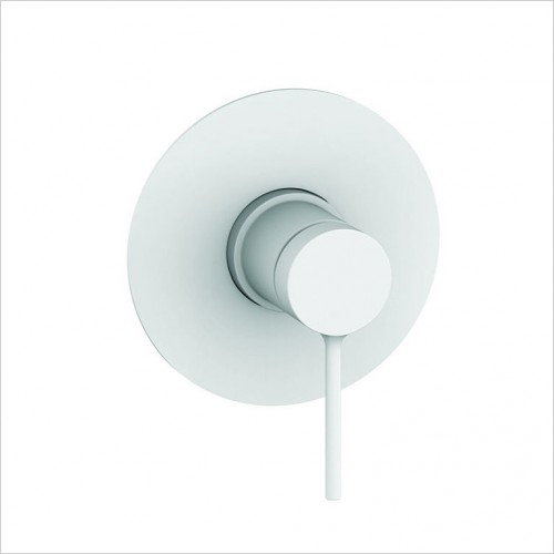 Bathwise brassware - Colour-line V 1 outlet round manual valve