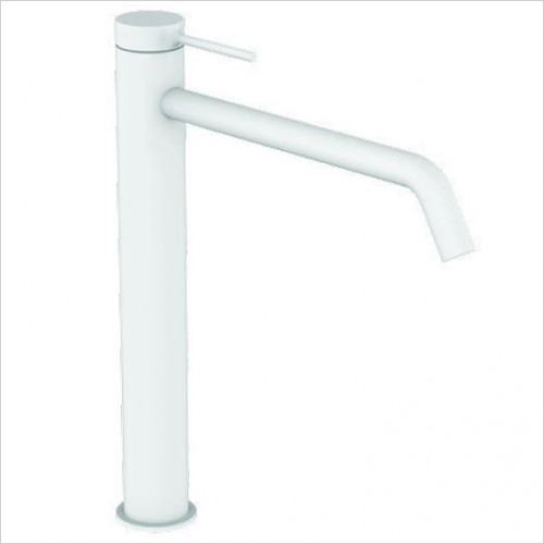 Bathwise brassware - Colour-line V tall basin mixer with click waste