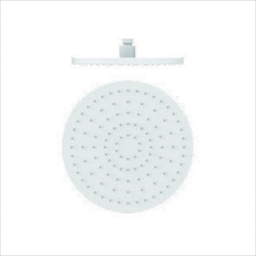 Bathwise brassware - Colour-line V 250mm round shower head