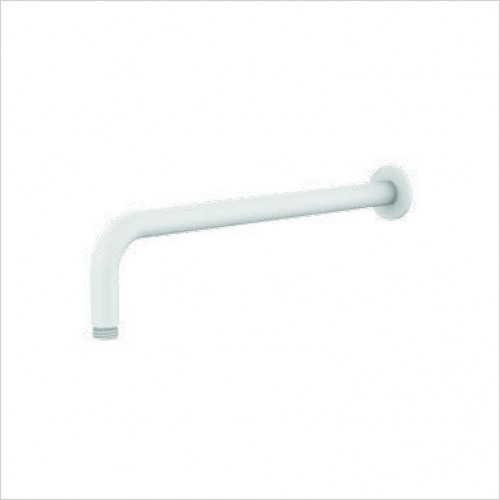Bathwise brassware - Colour-line V 330mm round wall shower arm