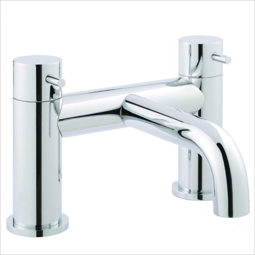 Bathwise brassware - Clean-line deck mount bath filler with kit