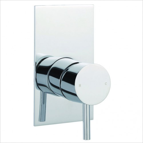 Bathwise brassware - Clean-line 1 outlet manual valve