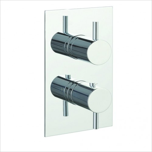 Bathwise brassware - Clean-line 2 outlet shower valve