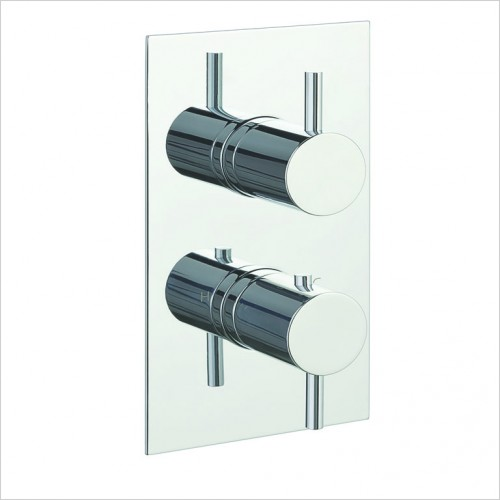 Bathwise brassware - Clean-line 3 outlet shower valve