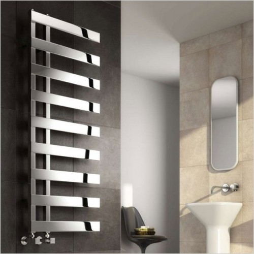 Bathwise - Cube-line II towel rail stainless steel
