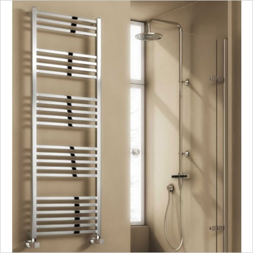 Bathwise Radiators - Square-line 1460x500mm towel radiator mild steel