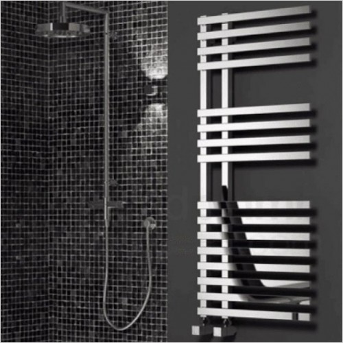 Bathwise Radiators - Square-line 1200x500mm towel radiator mild steel