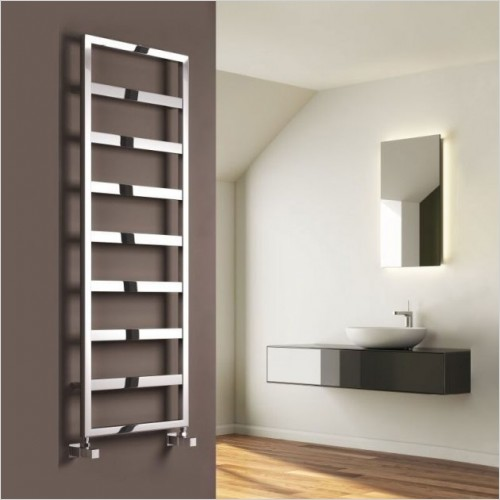 Bathwise Radiators - Square-line 1100x450mm towel radiator mild steel