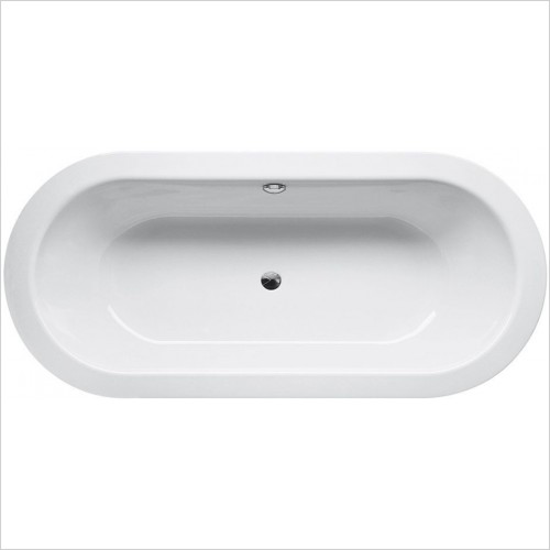 Bette Baths - Starlet Oval Bath 165 x 75 x 42cm, Legset Included