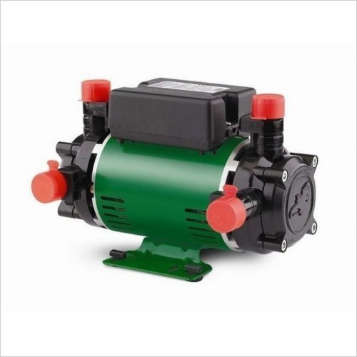 Salamander Pumps - 2.0 Bar Twin End Positive Head Shower Pump