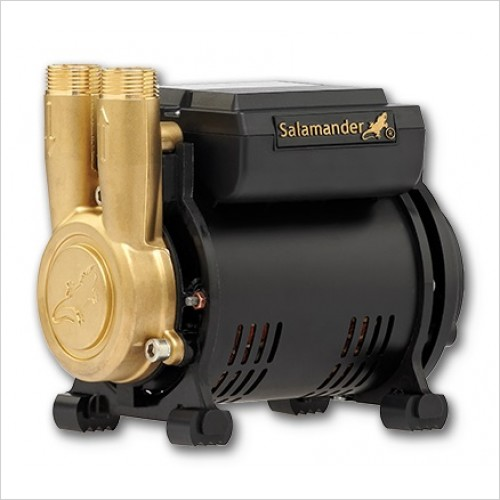 Salamander Pumps - 2.0 Bar Single Brass Ended Shower Pump Pos Head Regenerative