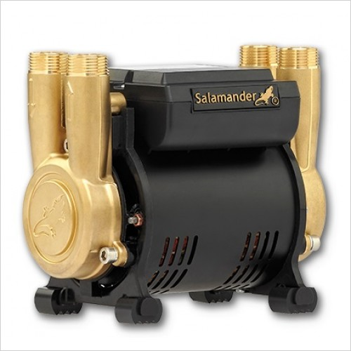 Salamander Pumps - 2.0 Bar Twin Ended Shower Pump Positive Head Regenerative