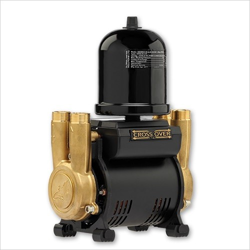 Salamander Pumps - 2.0 Bar Twin Brass Ended Universal Regenerative Shower Pump