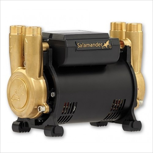 Salamander Pumps - 3.0 Bar Twin Brass Ended Shower Positive Head Regenerative