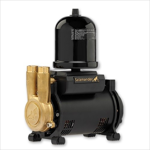Salamander Pumps - 3.0 Bar Single Ended Universal Regenerative Shower Pump