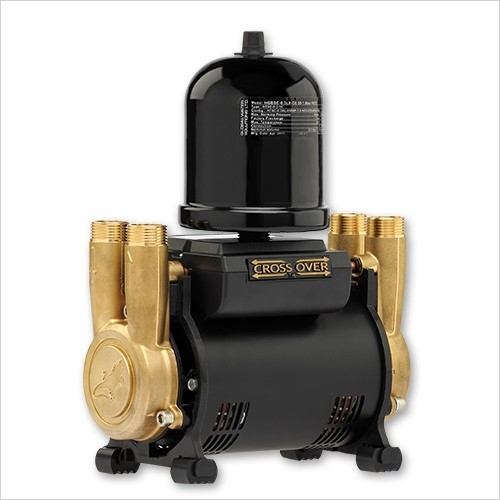 Salamander Pumps - 3.0 Bar Twin Brass Ended Universal Regenerative Shower Pump