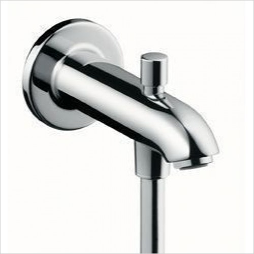 Hansgrohe Brassware - Tub Spout E/S 152mm With Diverter