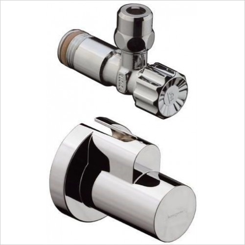 Hansgrohe Brassware - Angle Valve With Cover (Single)