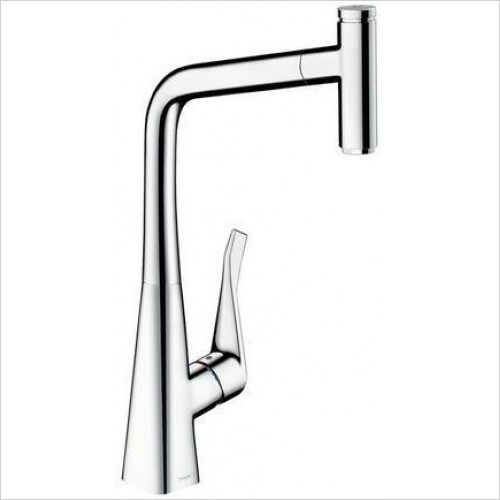 Hansgrohe Brassware - Metris Select Kitchen Mixer Pull-Out