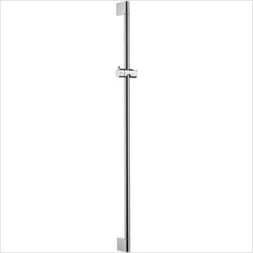 Hansgrohe Brassware - Unica Crometta Shower Bar 0.90m, No Hose