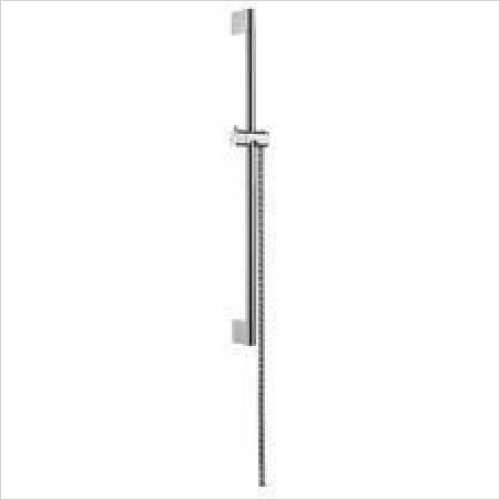 Hansgrohe Brassware - Unica Crometta Shower Bar 0.65m