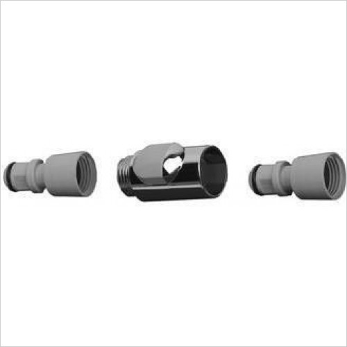 Hansgrohe Brassware - Quick-Coupling Set