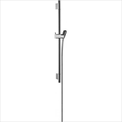 Hansgrohe Brassware - Unica S Puro Shower Bar 0.65m