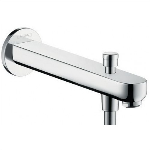 Hansgrohe Brassware - Metris S Tub Spout 228mm With Diverter
