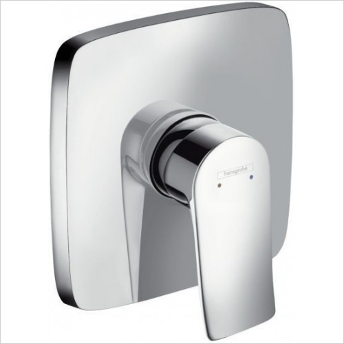 Hansgrohe Brassware - Metris Shower Mixer Concealed Square
