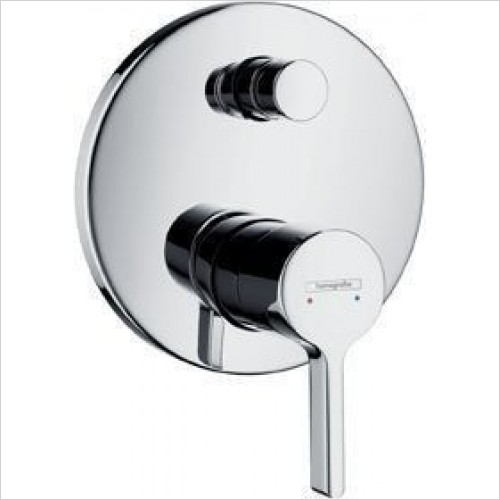 Hansgrohe Brassware - Metris S Bath Mixer Concealed Finish Set