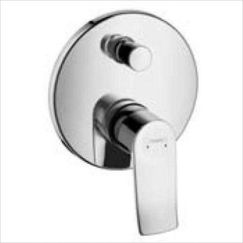 Hansgrohe Brassware - Single Lever Bath Mixer For Concealed Installation