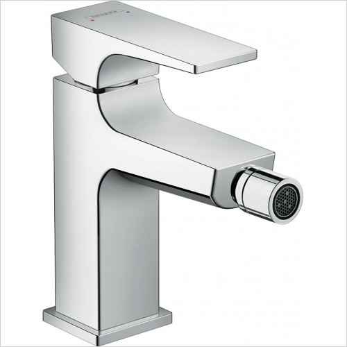 Hansgrohe Brassware - Metropol Single Lever Bidet Mixer & Push-Open Waste