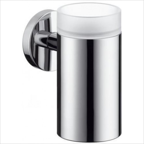 Hansgrohe Accessories - Logis Glass Toothbrush Tumbler