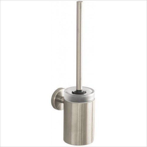 Hansgrohe Accessories - Logis Glass Toilet Brush With Glass Holder