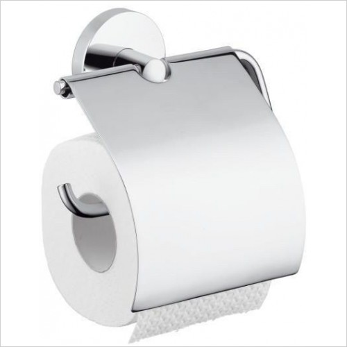 Hansgrohe Accessories - Logis Roll Holder With Cover