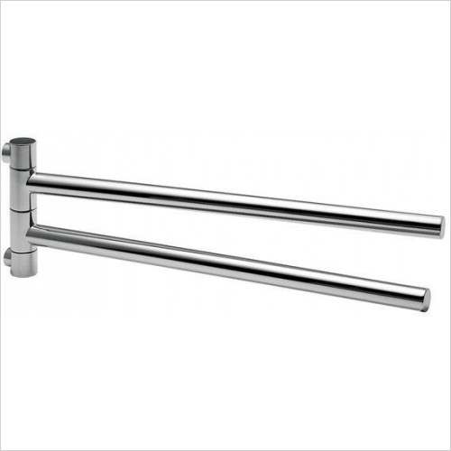 Hansgrohe Accessories - Double Towel Holder