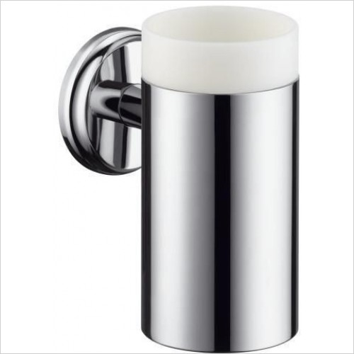 Hansgrohe Accessories - Logis Classic Ceramic Toothbrush Tumbler With Holder