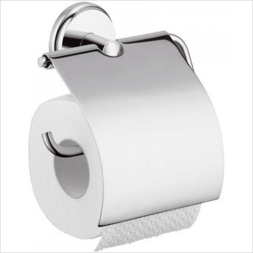 Hansgrohe Accessories - Logis Classic Roll Holder With Cover