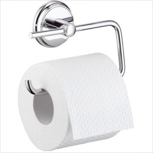 Hansgrohe Accessories - Logis Classic Roll Holder Without Cover