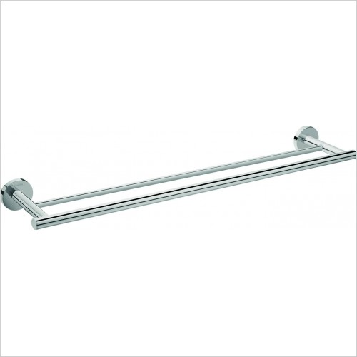 Hansgrohe Accessories - Logis E Double Towel Holder