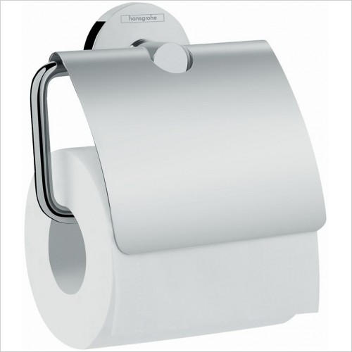 Hansgrohe Accessories - Logis E Roll Holder With Cover