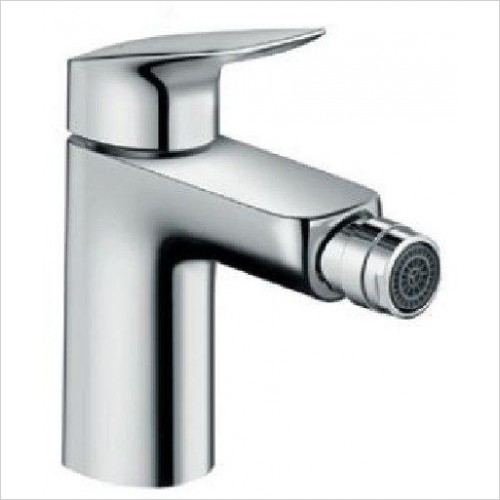 Hansgrohe Brassware - Logis Single Lever Bidet Mixer With Pop-Up Waste Set