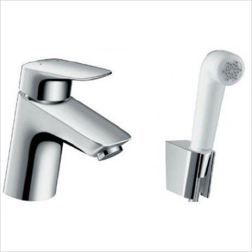 Hansgrohe Brassware - Logis Bidette 1Jet Hand Shower/Single Lever Basin Mixer