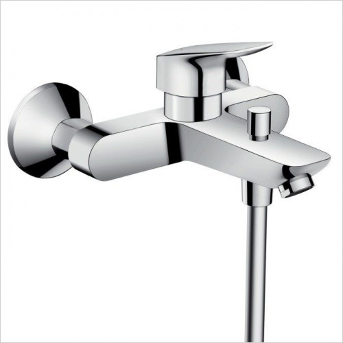 Hansgrohe Brassware - Logis Single Lever Bath Mixer For Exposed Installation