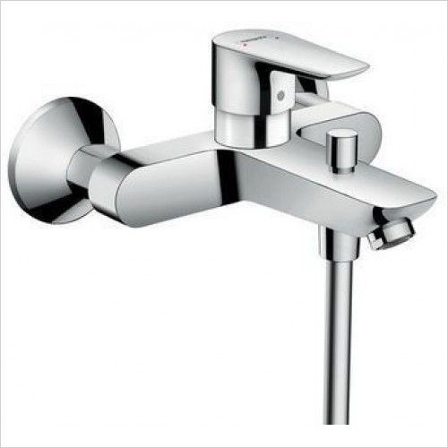 Hansgrohe Brassware - Talis E Single Lever Bath Mixer For Exposed Installation
