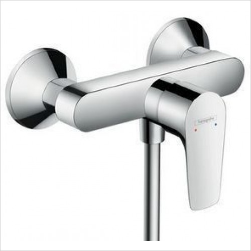 Hansgrohe Brassware - Talis E Single Lever Shower Mixer For Exposed Installation