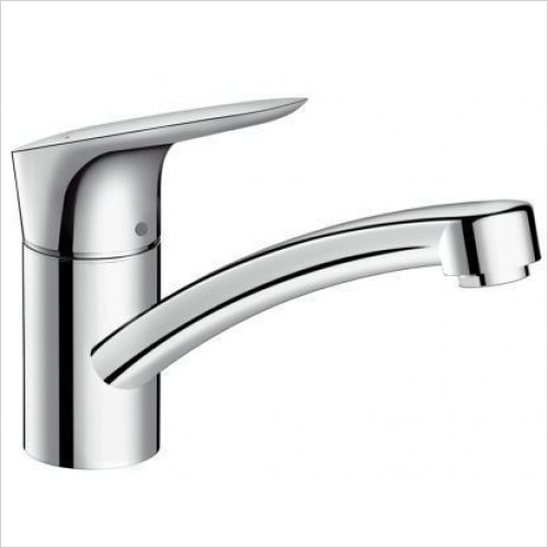 Hansgrohe Kitchen Taps - Logis Single Lever Kitchen Mixer 120